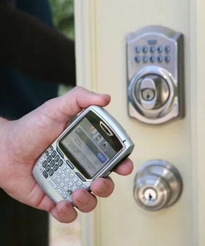 knobs Nexia Lock Control