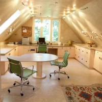 Home Office Ideas on Pinterest   Sloped Ceiling, Home ...