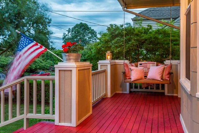 traditional porch by Cassie Daughtrey Realogics Sotheby's Realty