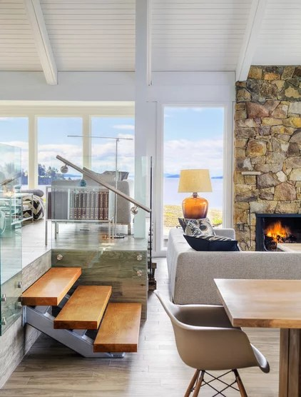 inexpensive beach chairs barber for sale ebay houzz tour: a fresh pacific northwest take on midcentury modern