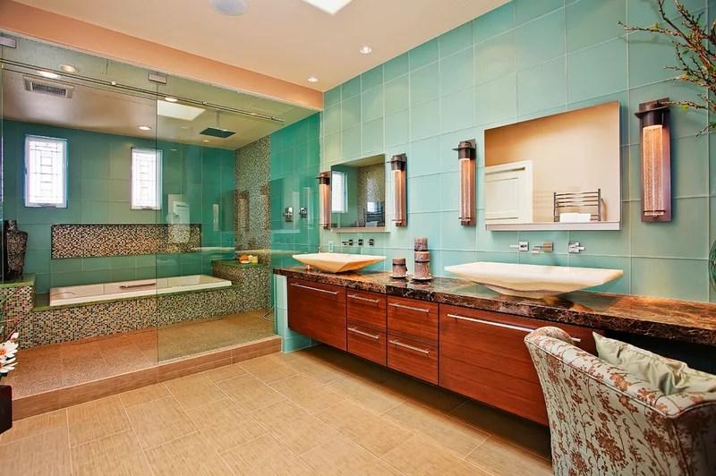 Asian Bathroom by Jackson Design & Remodeling