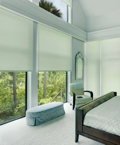 contemporary bedroom by All About Windows Inc