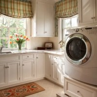 Laundry Room Small Window Treatment Ideas - Kids Art ...