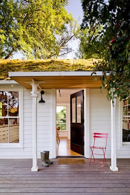 contemporary porch by Jessica Helgerson Interior Design