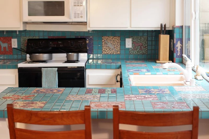 Eclectic Kitchen by Shelley Gardea
