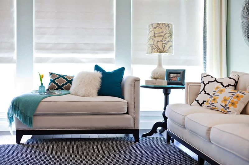 Contemporary Living Room by Abbe Fenimore Studio Ten 25