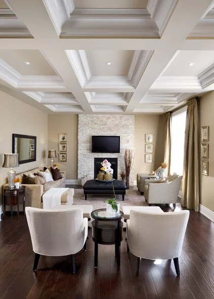 traditional living room by Jane Lockhart Interior Design