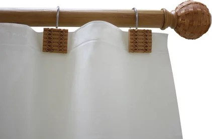 Evoke Laid Back Style With Bamboo Curtain Rods