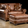 Sofas and chairs furniture this chair and a half and ottoman is made