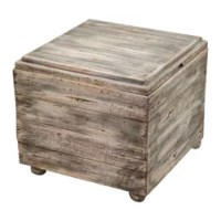 Rustic Footstools & Ottomans: Find Storage Ottoman and
