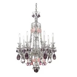 Shop Rock Crystal Chandelier Products on Houzz