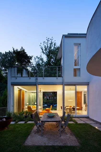 Contemporary Patio by Meditch Murphey Architects