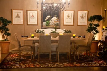 dining fantasy room rooms french eclectic beautifully refined timeless twist blend charm antiques classic