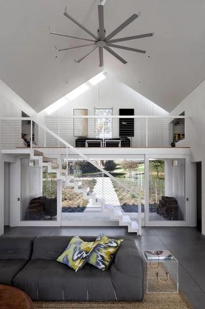 farmhouse living room by Turnbull Griffin Haesloop