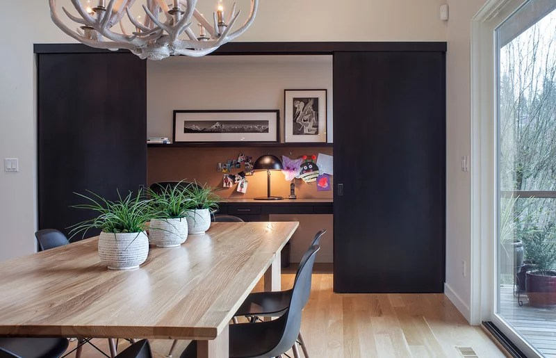 contemporary home office by Scott Edwards Architecture