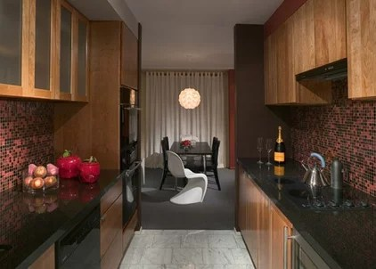 contemporary kitchen by James Woolum Design Inc.