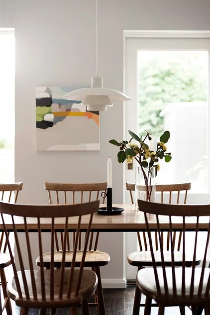 modern dining room by ANNA CARIN Design