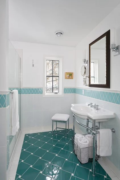 Traditional Bathroom by Meriwether Inc