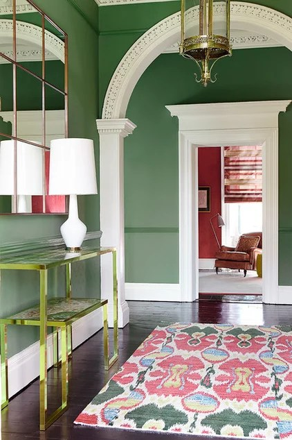 Transitional Entry by Eoin Lyons Interiors