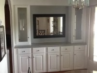 Dining room buildin wall unit