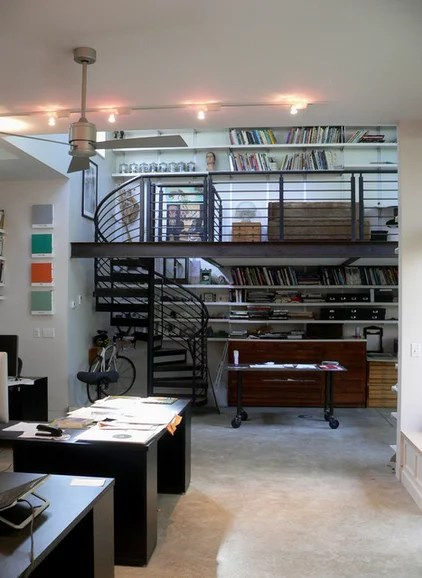 industrial home office by mark gerwing