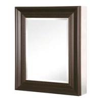 Wood Frame Recessed Medicine Cabinet Medicine Cabinets ...