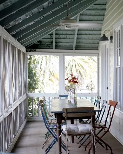 eclectic porch by Atlantic Archives, Inc.