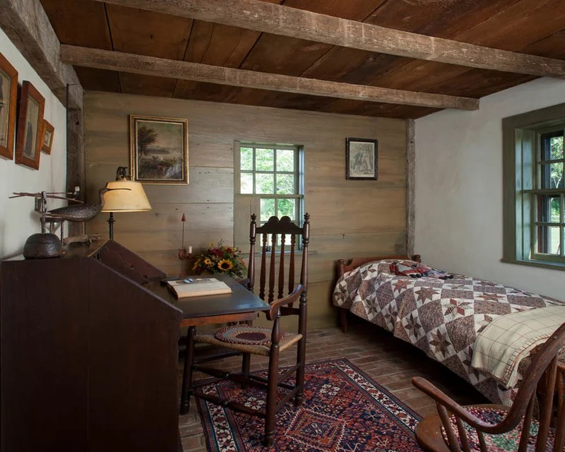 farmhouse bedroom The William Farley House