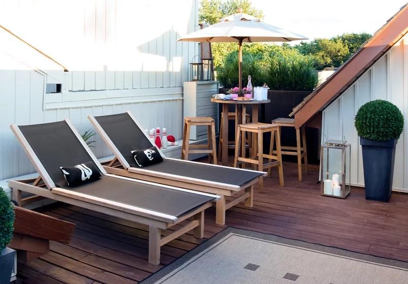 contemporary patio by Terra Firma Design