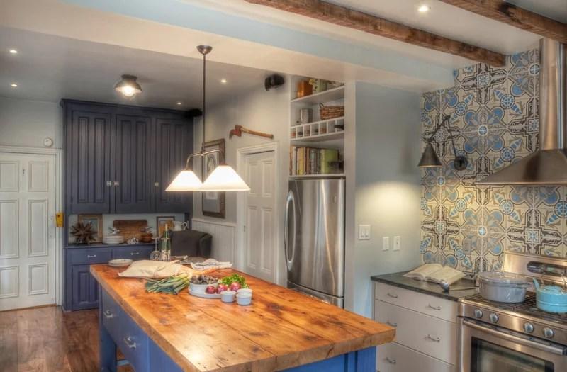 farmhouse kitchen by Buckminster Green LLC