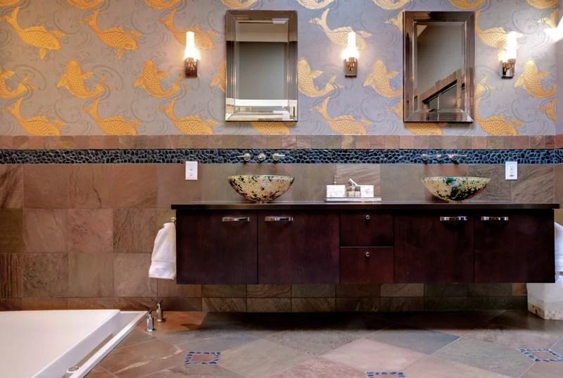 Asian Bathroom by dwellbeing