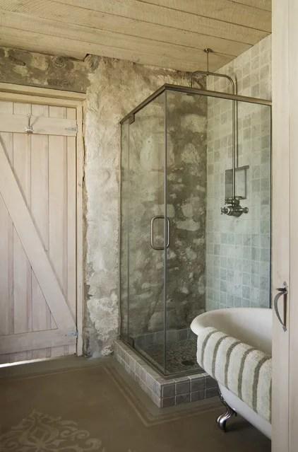 Rustic Bathroom Eclectic Bathroom