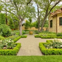 Landscape plans: Tuscan style backyard landscaping ...