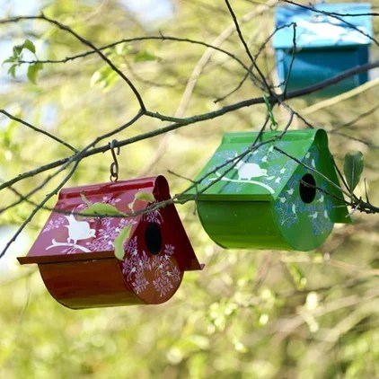 contemporary birdhouses by mydeco