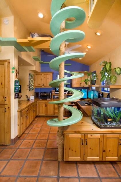 eclectic home office by Trillium Enterprises, INC.