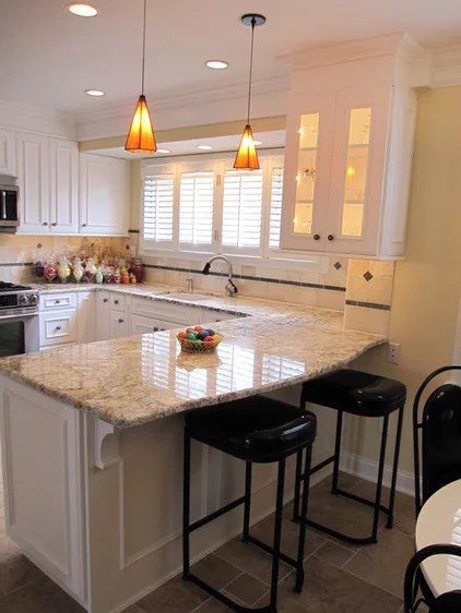 traditional kitchen by B & P Distinctive Renovations, LLC