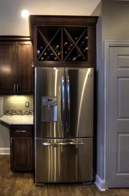 Storage Space Gem Above The Refrigerator