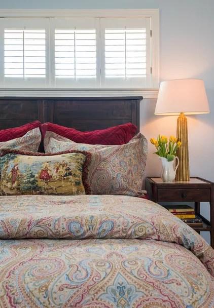 Traditional Bedroom by Dona Rosene Interiors