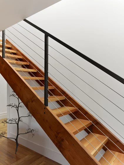 Modern Staircase by Neill and Lee Contractors