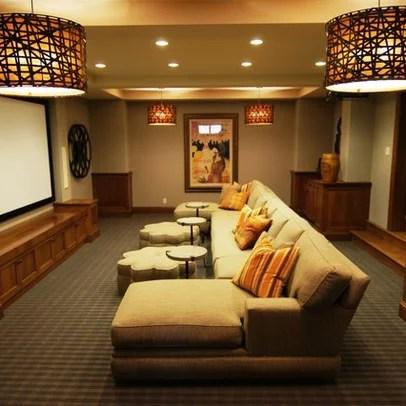 benedetina: Media Room Sofa