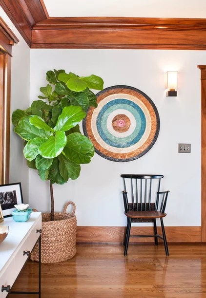 Eclectic Living Room by Taylor Jacobson Interior Design
