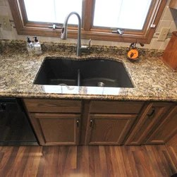 moen bronze kitchen faucet home depot tile traditional sink accessories: find caddy and ...
