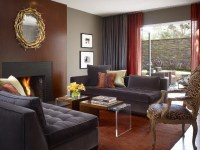 Cozy Contemporary Living Spaces