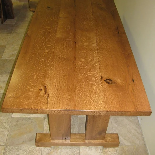 Quarter Sawn Oak Coffee Table