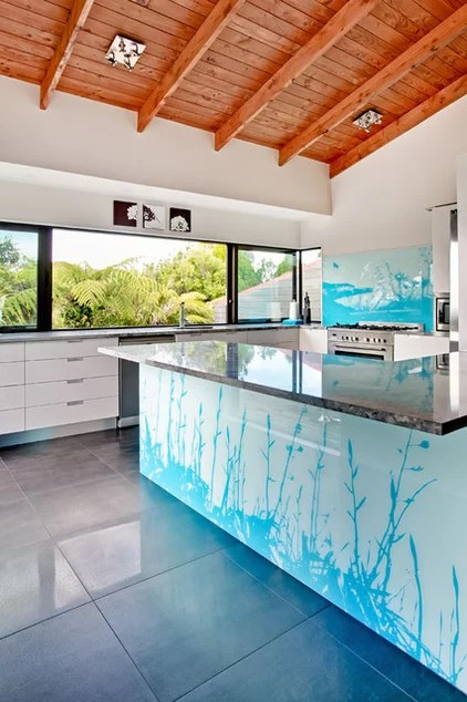 contemporary kitchen by Lucy G Creative NZ Photography & Splashbacks