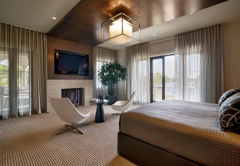 modern bedroom by b+g design inc.