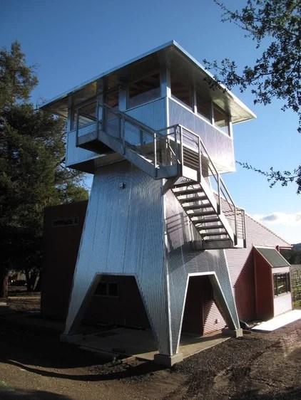 contemporary exterior by Michael Cobb