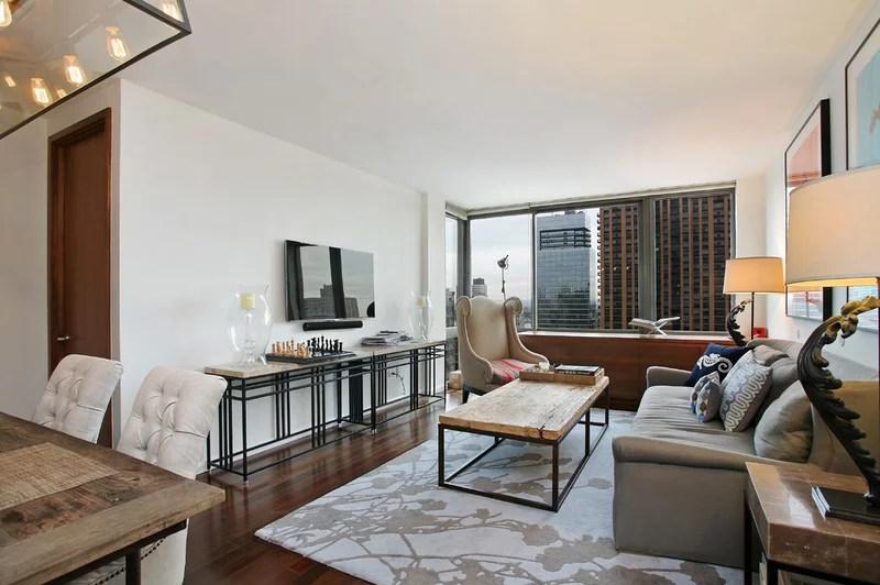 contemporary family room by Caroline Bass Citi Habitats