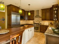 All 9 Foot Ceilings- Stacked, single and transom wall cabinets