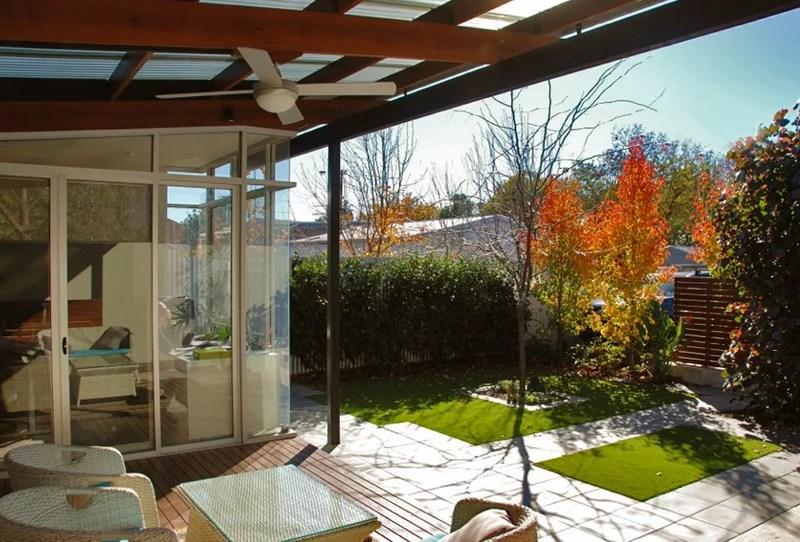 Modern Deck by Yardstick Landscape Design